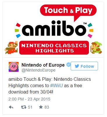 Amiibo tap incoming to Europe this month!