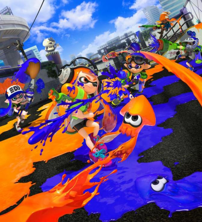 Splatoon Shoots It's Way To The Top On Amazon